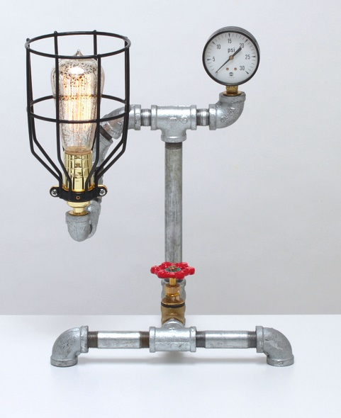 CRINOLINE STEAMPUNK DESK LAMP