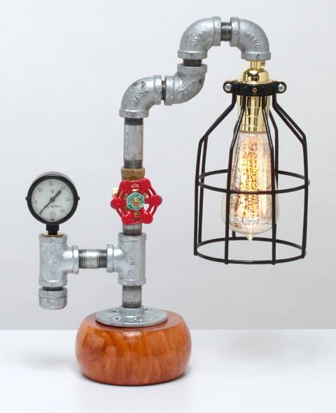 Skipper Steampunk Lamp