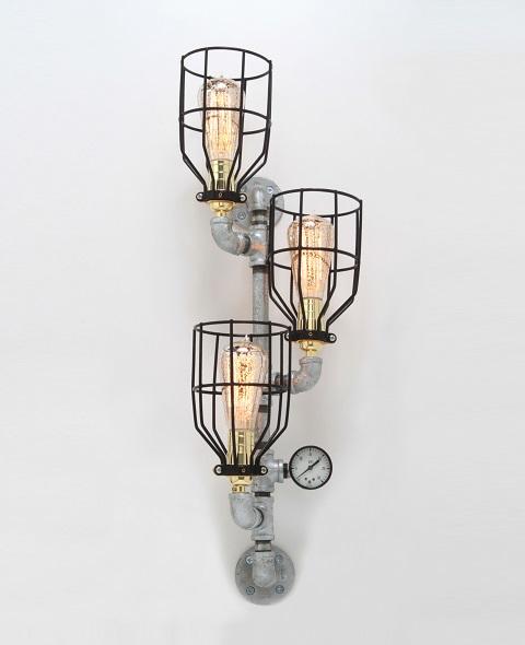 ZigZagZig Steampunk Wall Sconce Lamp