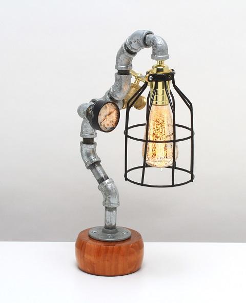 Oscar Steampunk Lamp