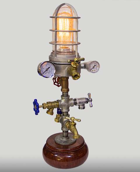 Minaret Steampunk Lamp The Lightbulb Store
