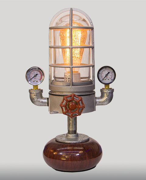 Mini Minaret Steampunk Lamp