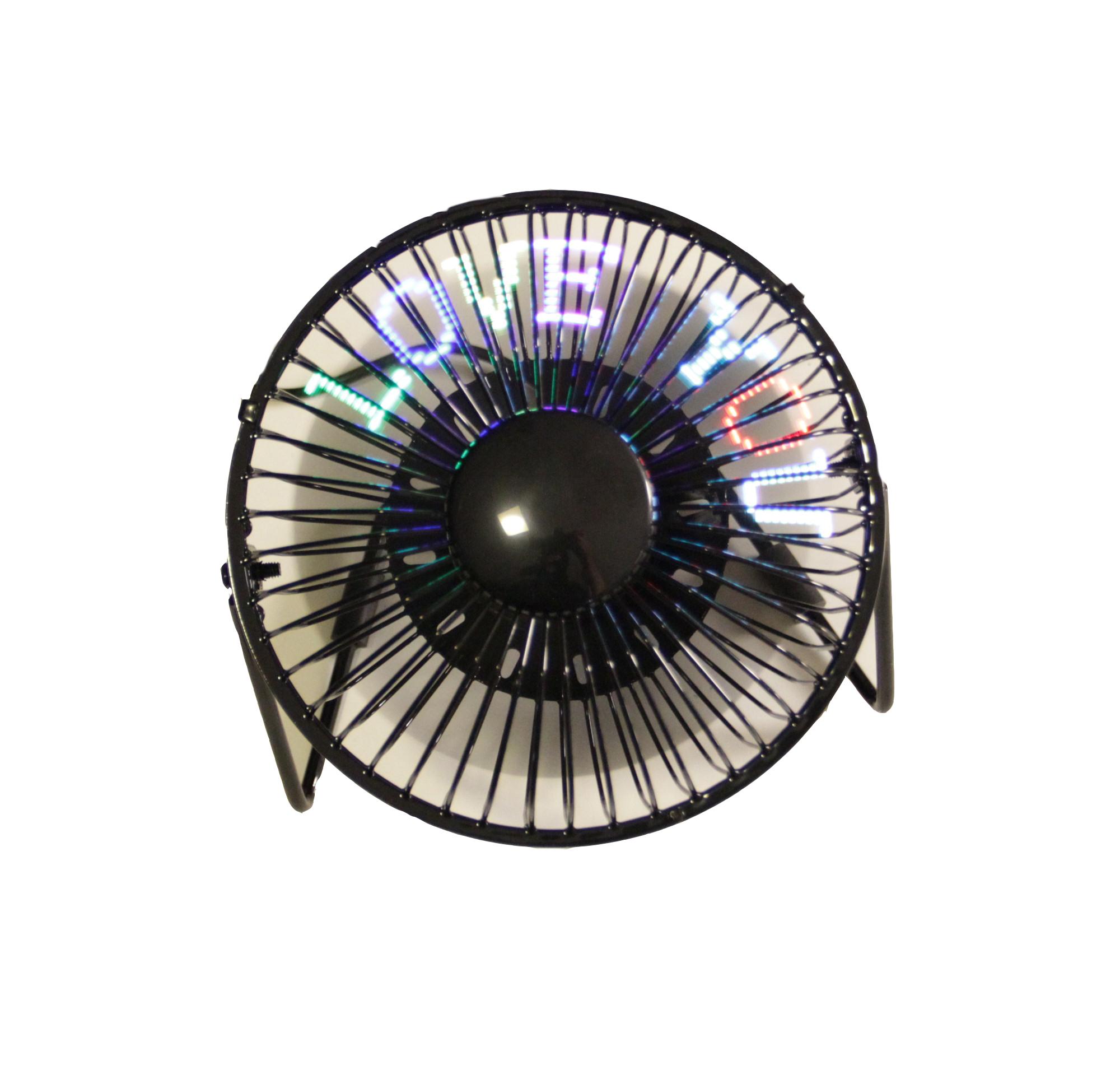 Fanbee Desk Fan With Led Message The Lightbulb Store